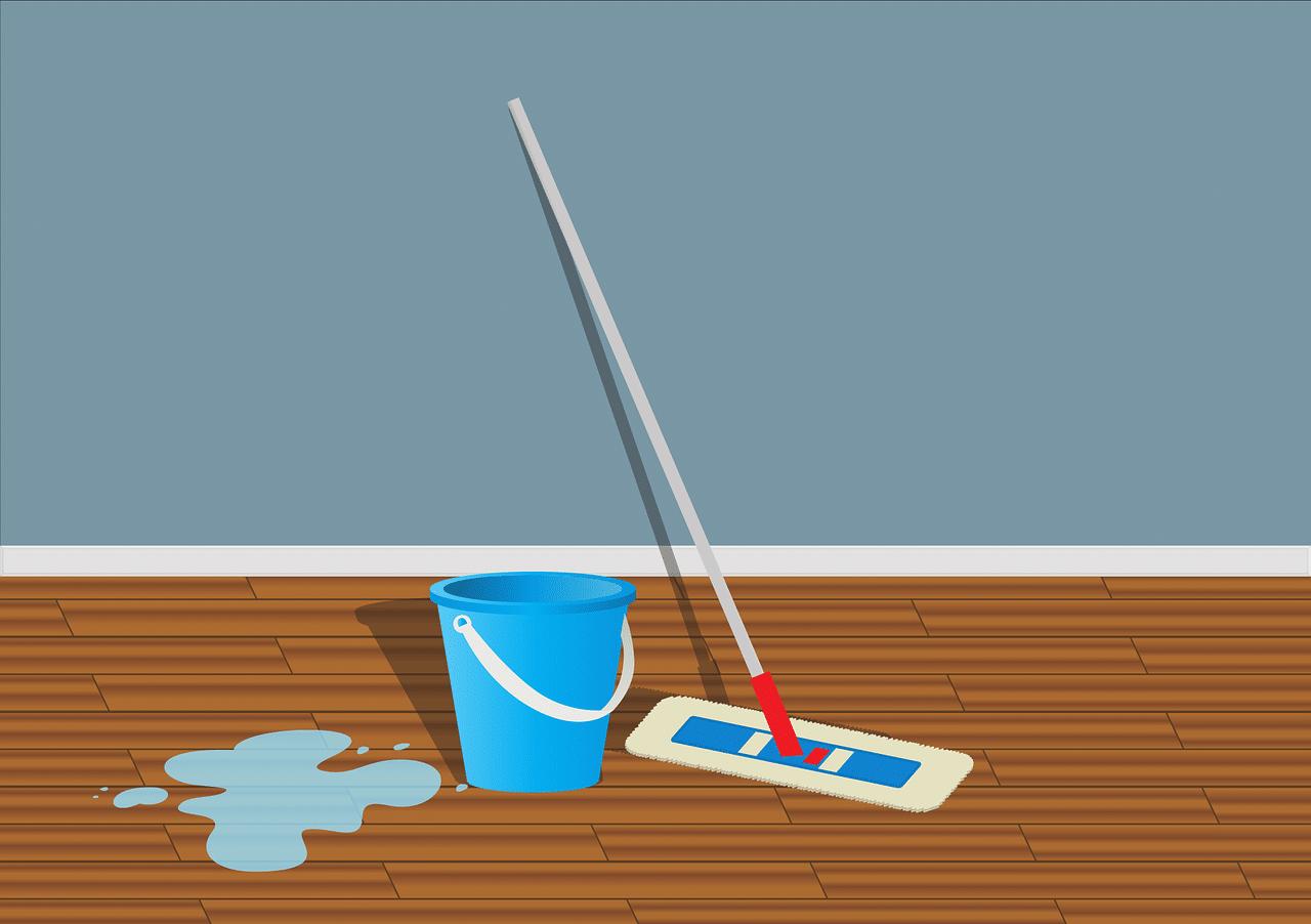entretien de la maison avec le mar de café
