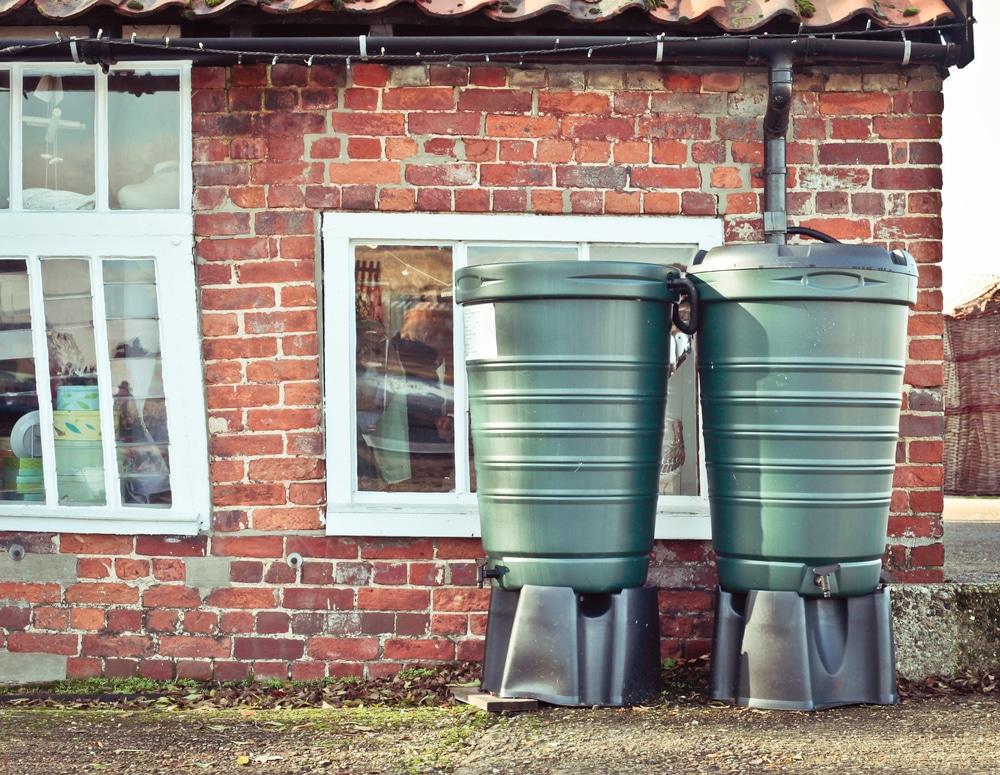 le fonctionnement d'une cuve d'eau de pluie