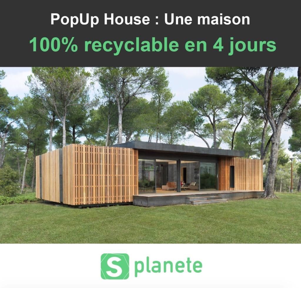 La Popup house