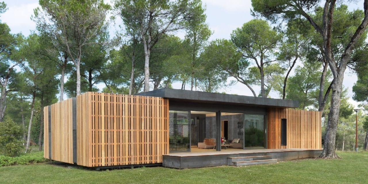 popup house : une maison 100% recyclable en 4 jours - smartplanete