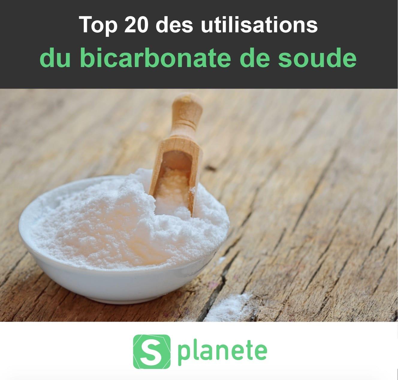 les utilisations du bicarbonate de soude
