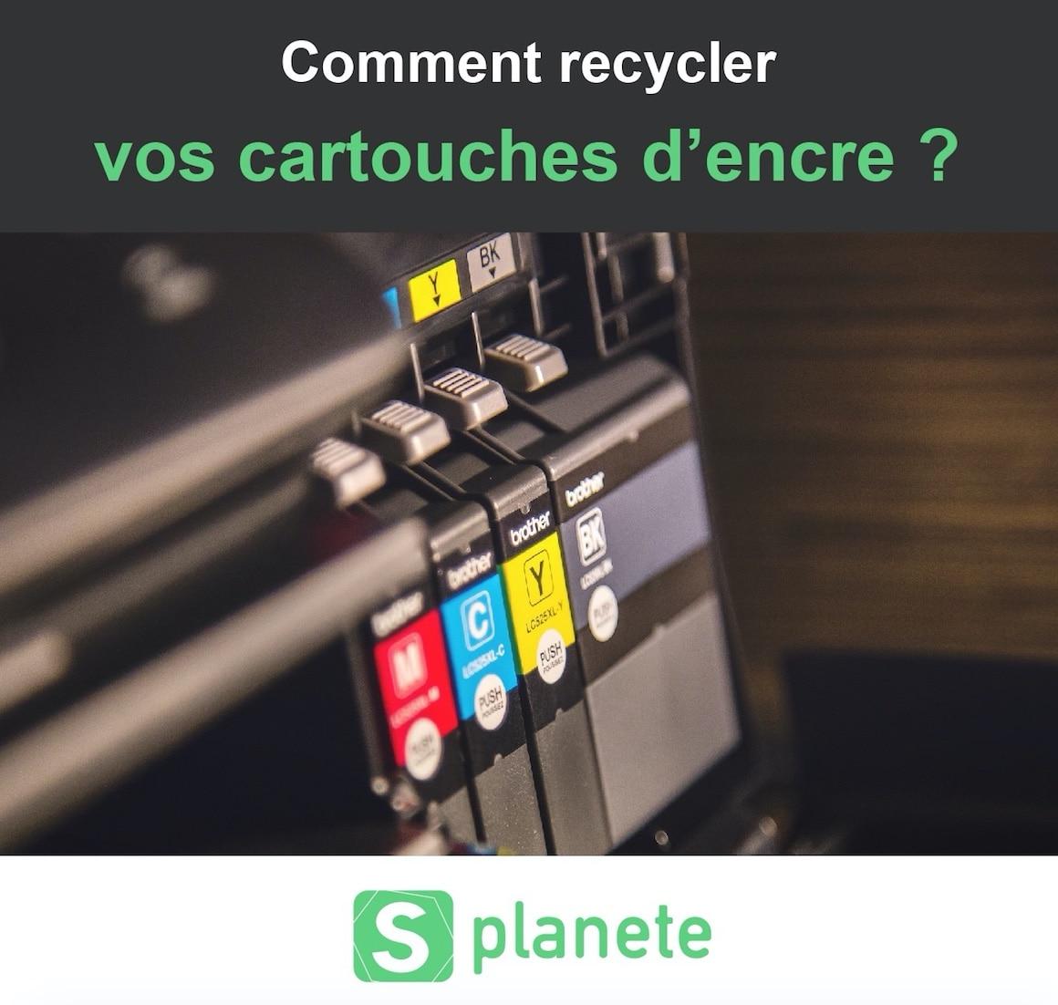 Comment recycler vos cartouches d'encre d'imprimante ?