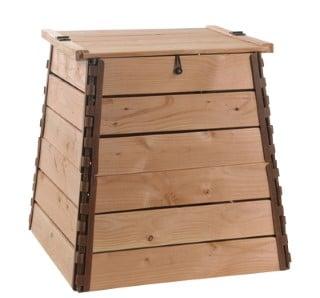 Bac à composte de Balcon en bois
