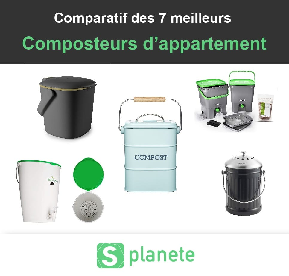Comparatif des composteur d'appartement