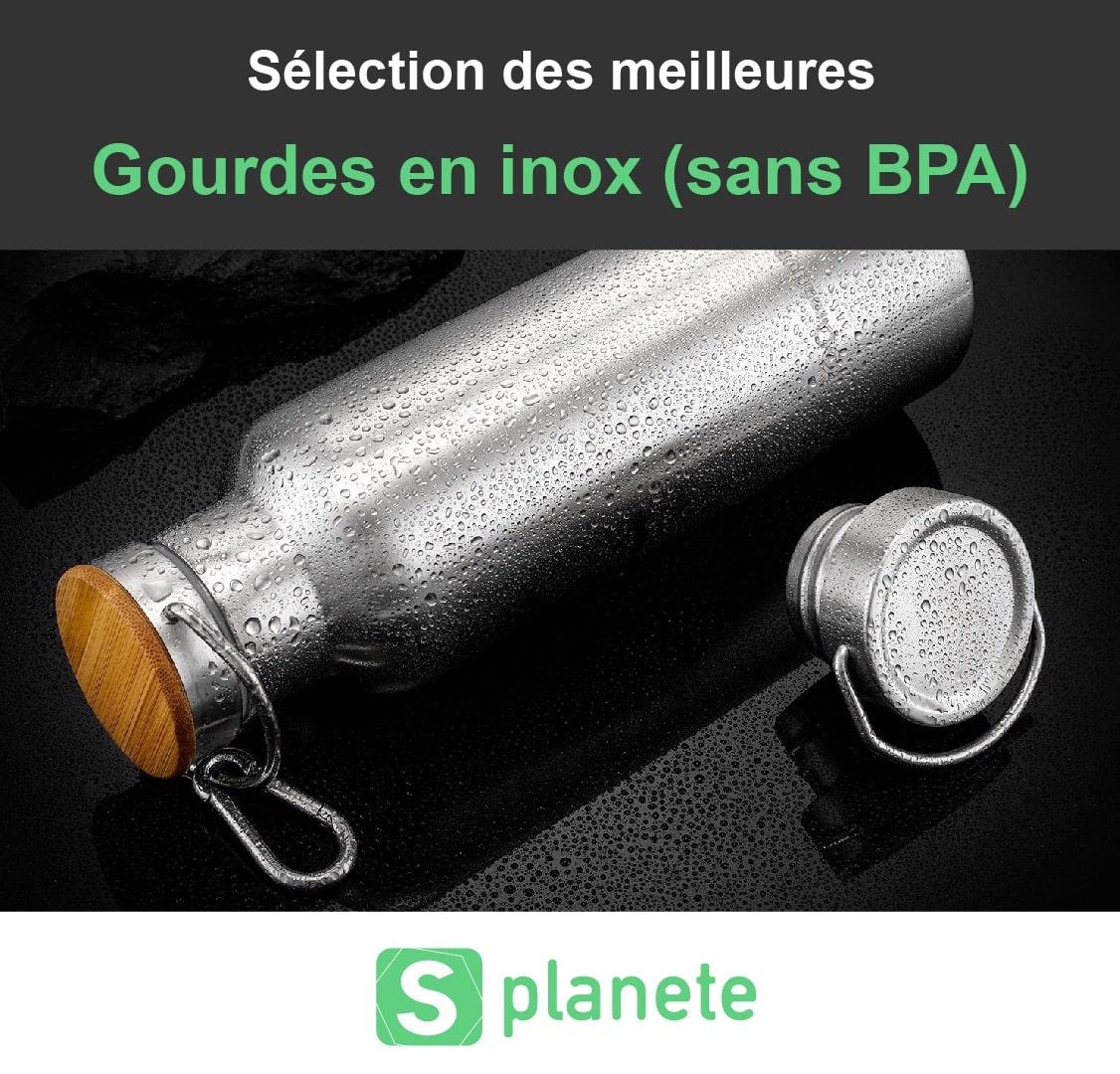 10 meilleures gourdes en INOX réutilisables (sans BPA)