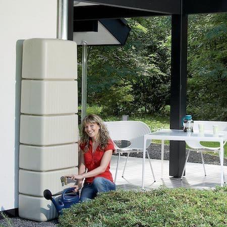 Récupérateur d'eau mural Garantia 300L