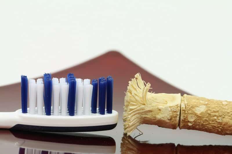 dentifrice maison à la poudre de Siwak