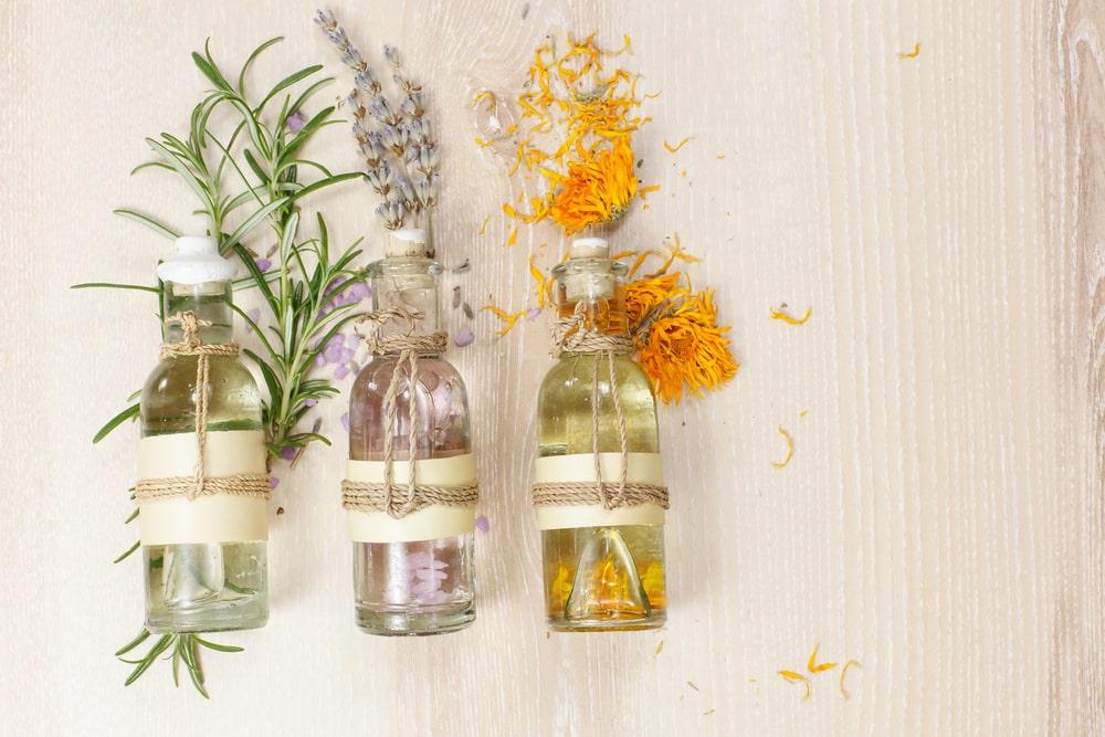 Savon a froid avec huiles essentielles